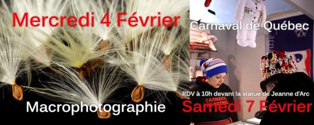 Semaine du 2 Février : Macro et Carnaval