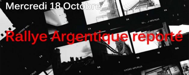 Le Rallye Argentique est reporté