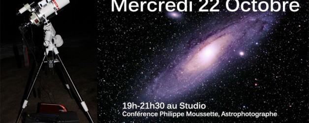 Conférence de Philippe Moussette