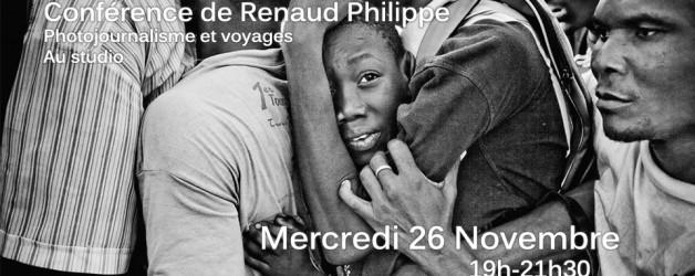 Conférence de Renaud Philippe
