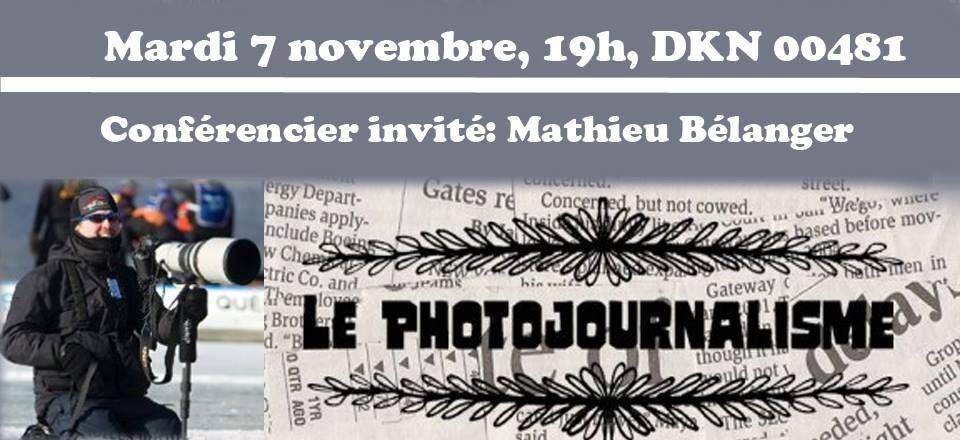 Conférencier invité Mathieu Bélanger